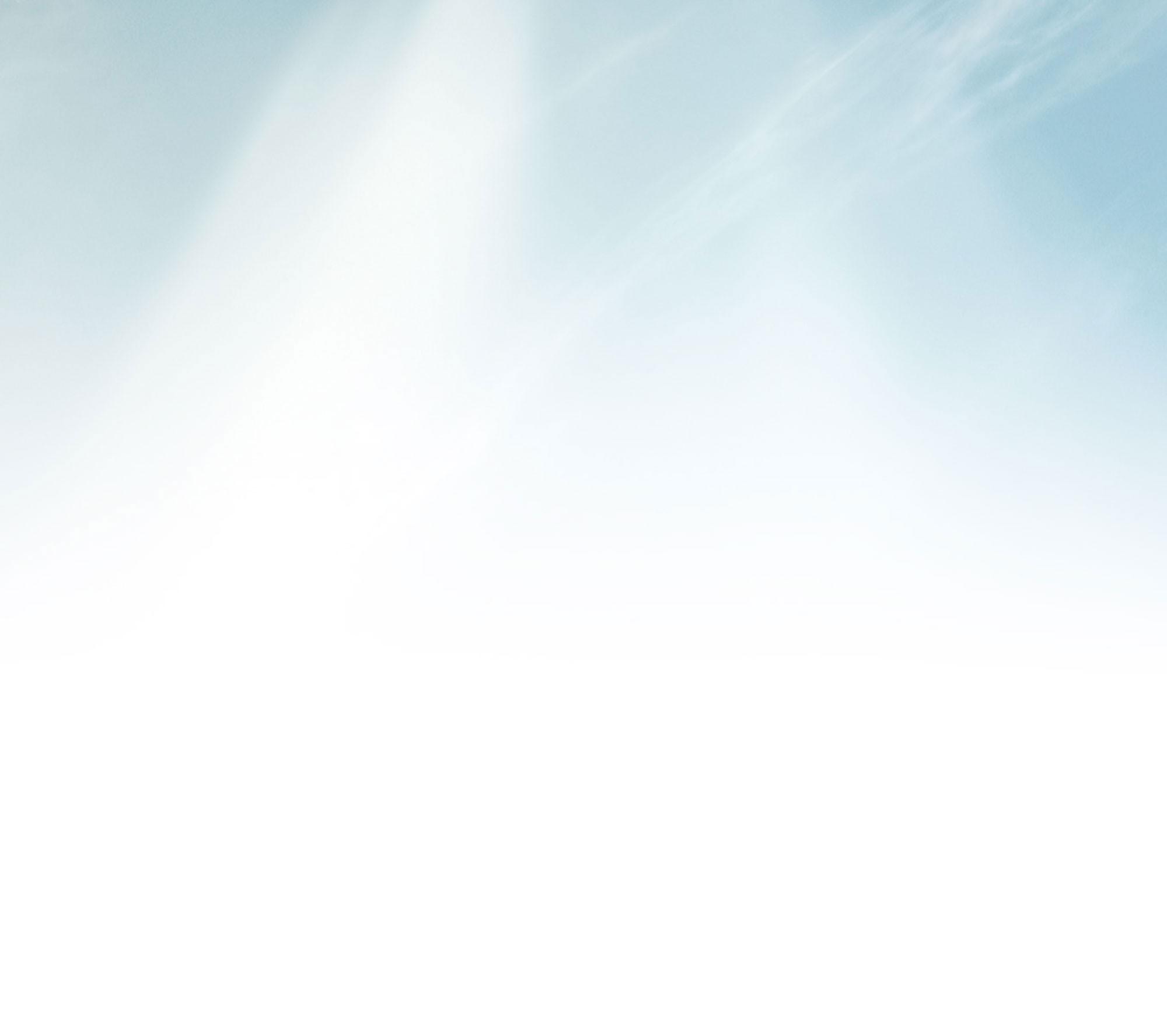 Rayons ciel bleu